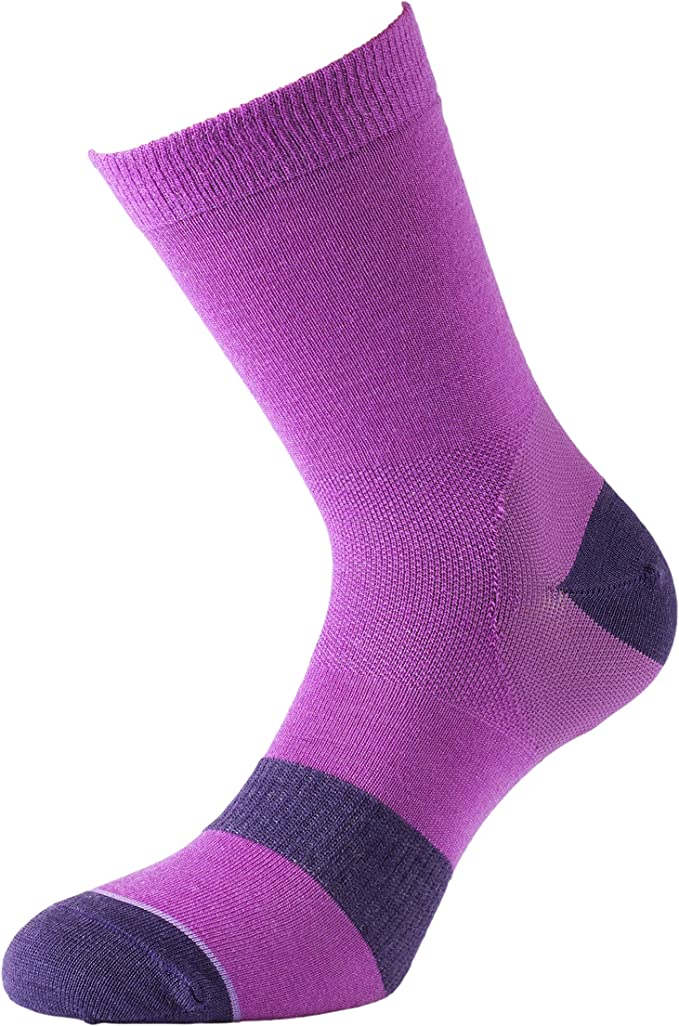 - 2 Pair Charcoal 1000 Mile Approach Mens Double Layer Blister Free Tactel Walking Hiking Socks X-Large // 12-14UK
