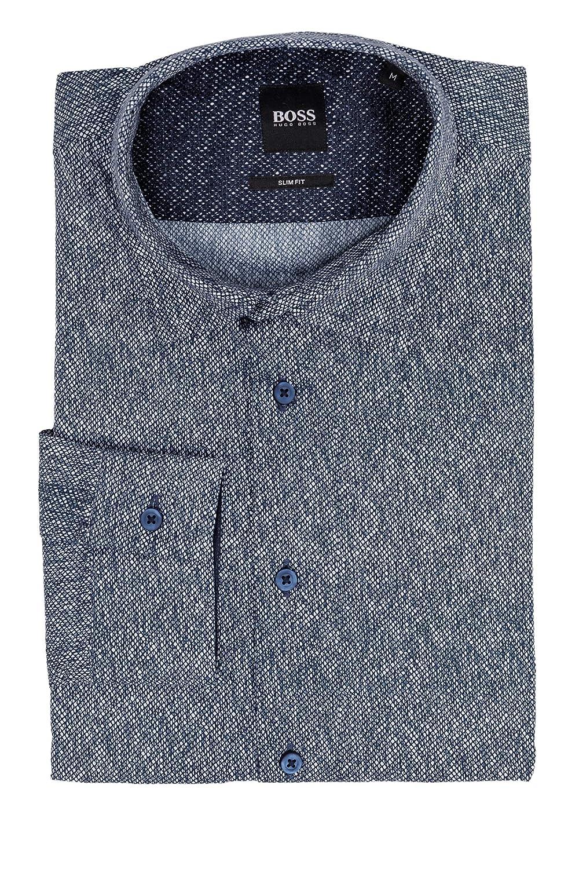 Boss Casual Mypop_2 - Camisa para hombre Azul oscuro (405). XXL: Amazon.es: Ropa y accesorios