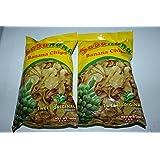 Sabanana Chips or Banana Chips Sweet Original Flavor Pack of Two 3.5 oz a pack
