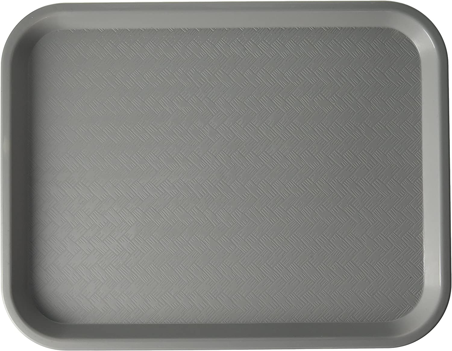 Winco Fast Food Tray, 10-Inch by 14-Inch, Gray