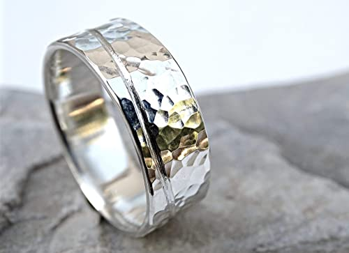 Organic Ocean Alternative Engagement Ring