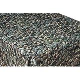 Pebbles Vinyl Tablecloth Table Cover 2 Metres