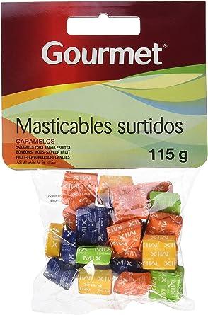 Gourmet - Masticables surtidos - Caramelos - 115 g - , Pack de 6: Amazon.es: Alimentación y bebidas