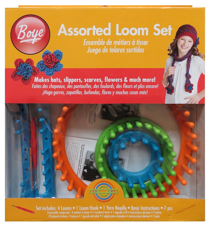 Boye 4-Piece Loom Knitting Assorted Set: Amazon.co.uk: Kitchen & Home