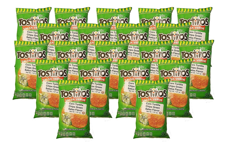 Amazon.com: Sabritas Mexican Chips Large Bags Box of 20 (20-pack) (Botanas Mexicanas Bolsa Grande Caja de 25) ((20-Pack) Churrumais 7.07 oz)