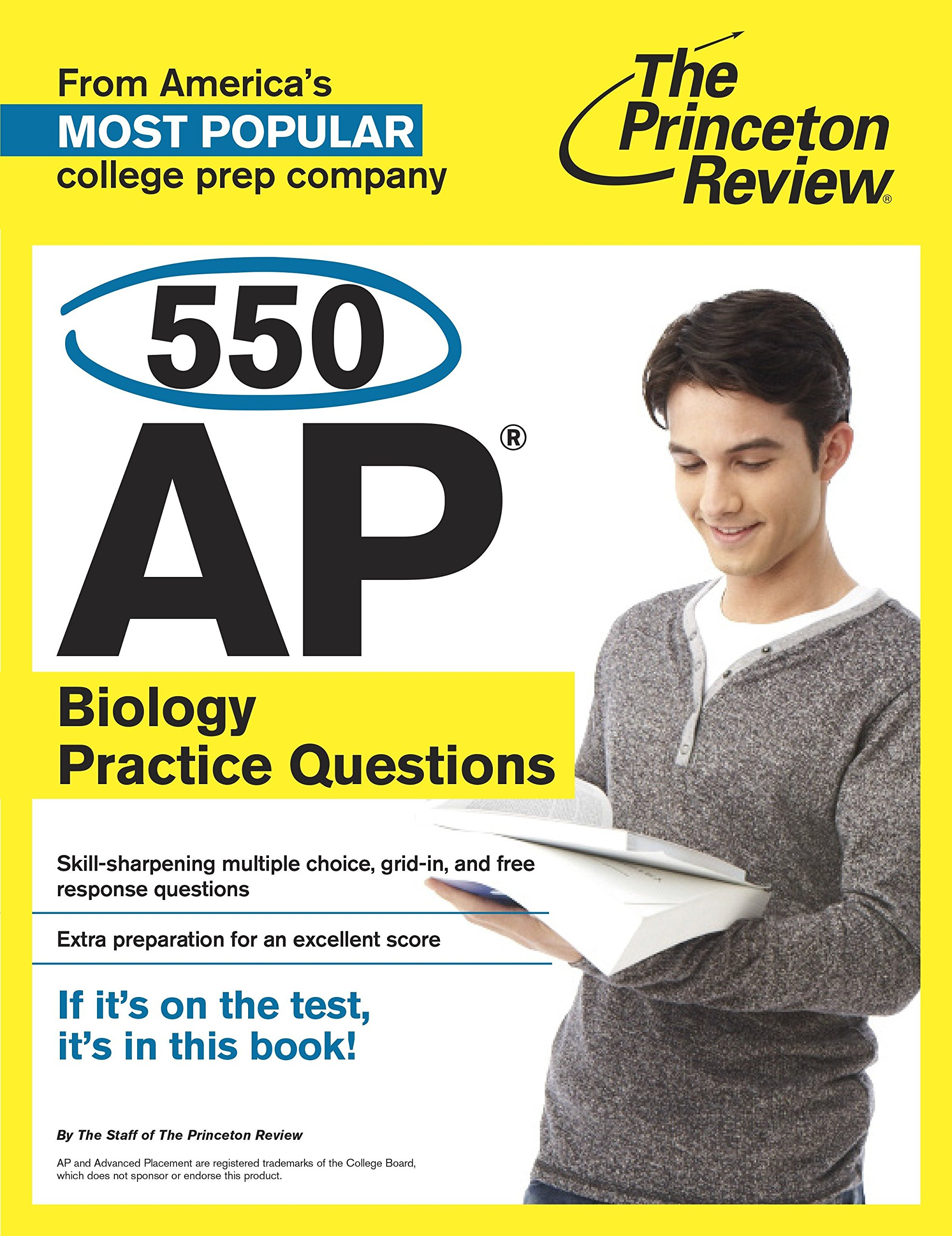 550 AP Biology Practice Questions: The Princeton Review