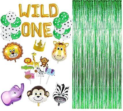amazon com maplelon wild one first birthday party decoration