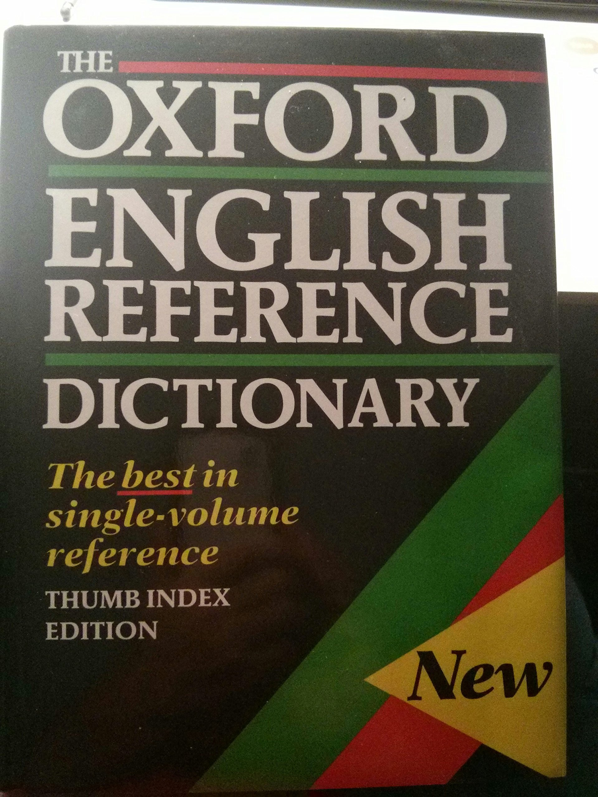 The Oxford English Reference Dictionary: Amazon.co.uk: Judy Pearsall, Bill  Trumble: 9780198613091: Books