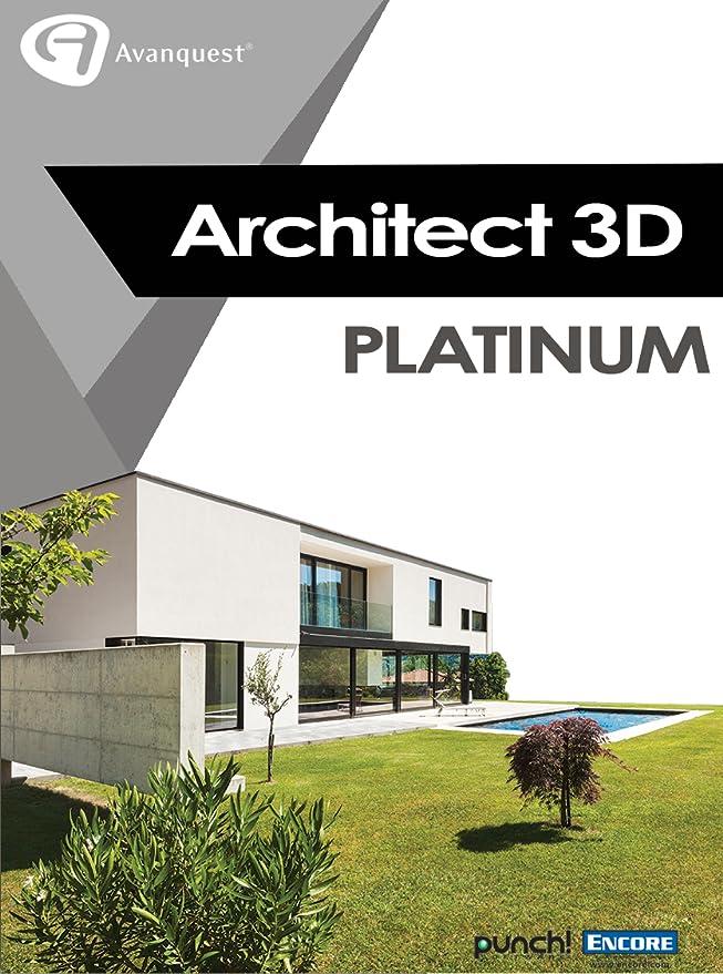 Architect 3D Platinum 2017 (V19) [Download]: Amazon.co.uk: Software