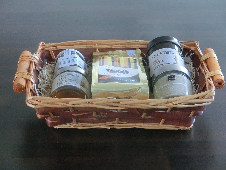 Geschenkkorb / Präsentkorb Frühstück Deluxe: Kaffee, Honig ...