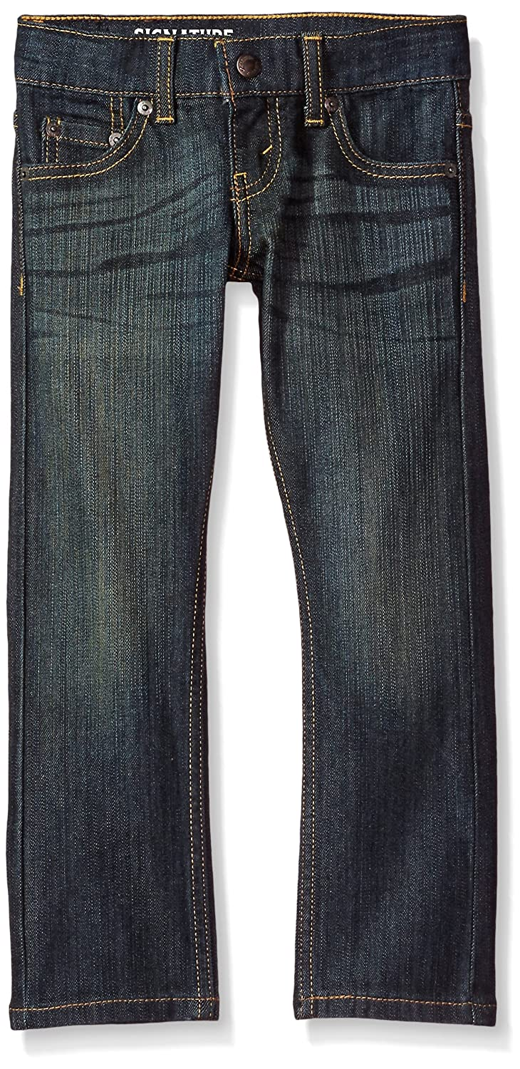 Signature by Levi Strauss & Co. Gold Label Big Boys' Slim Straight Fit Jeans -