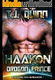 Haakon, The Drogon Prince: SciFi Alien Soul Mates Romance (A Drogons Fate Series Book 2)