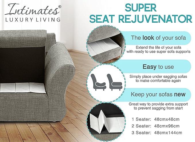 Amazon.com: Intimates Intimates sofá de 3 plazas soportes de ...