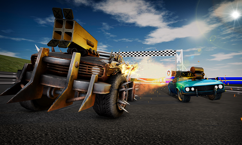 Furia loca de la carrera de la muerte: Max Racing Challenge ...