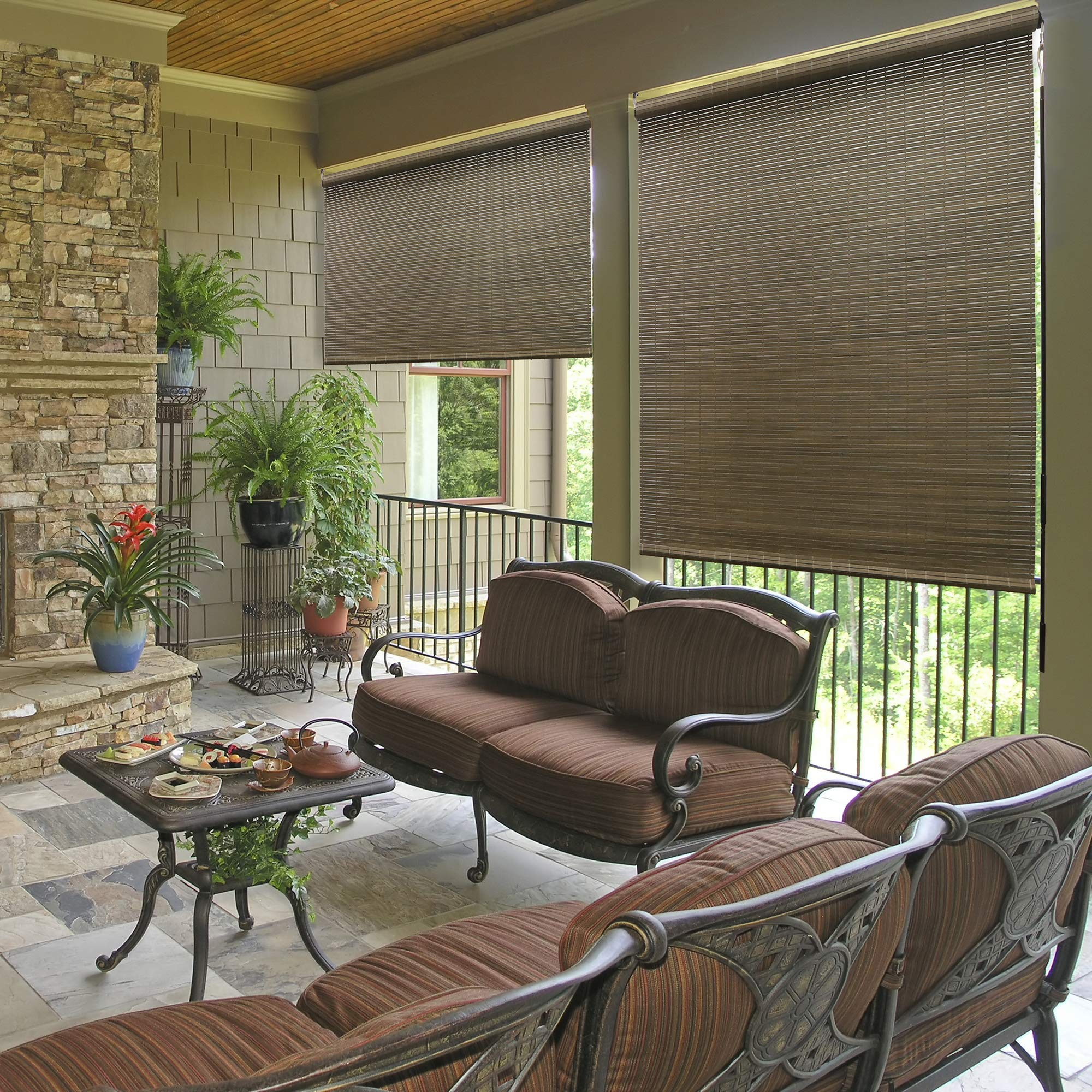 Lewis Hyman All Natural Bamboo Crank Shade, 96 In. W x 72 In. L by Lewis Hyman