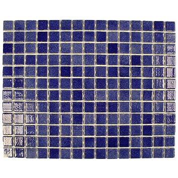 Verre Mosaique Bleu Mosaique Pour Carrelage 30 X 40 Cm Verre