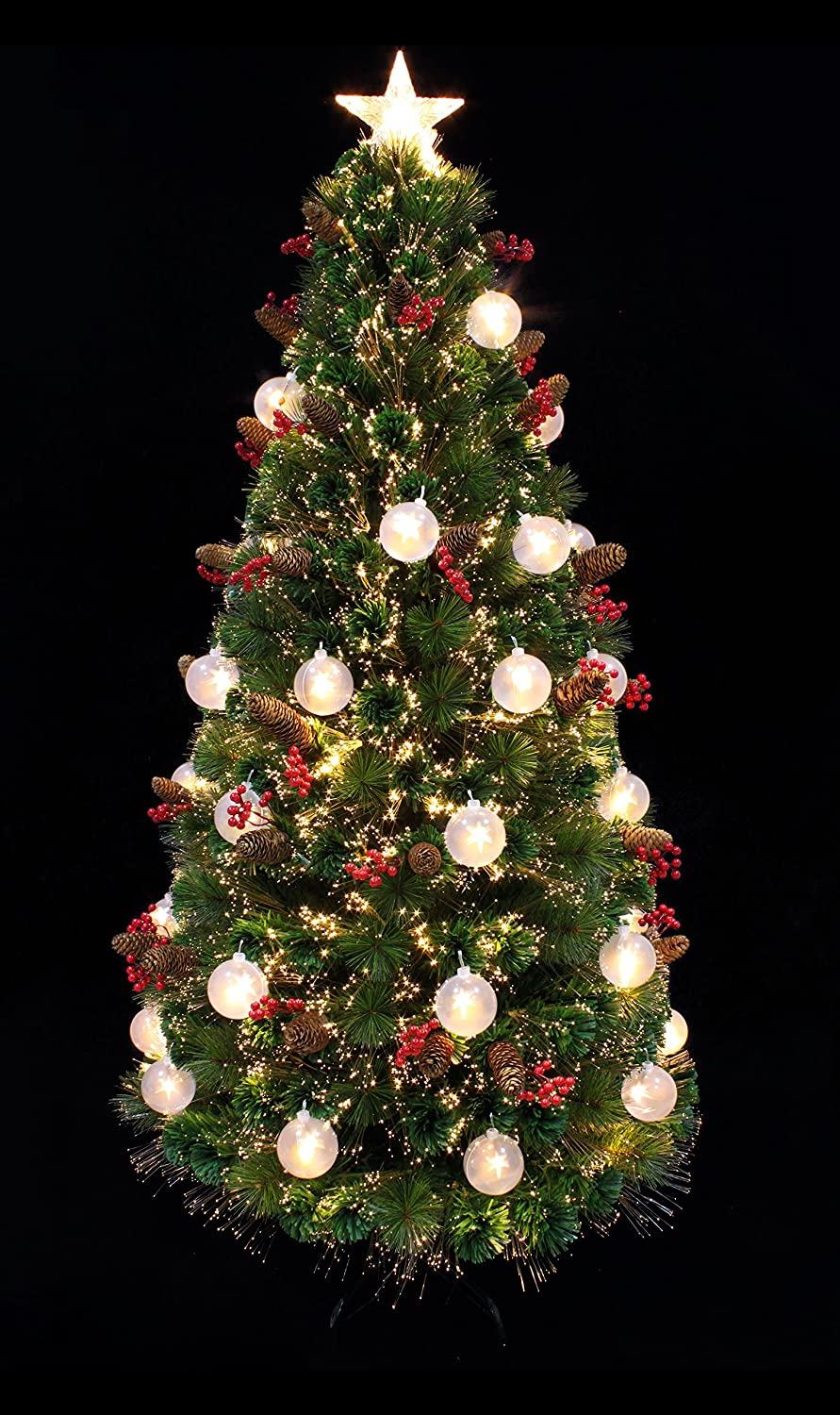 5ft christmas tree 5 foot fiber optic christmas trees 1447
