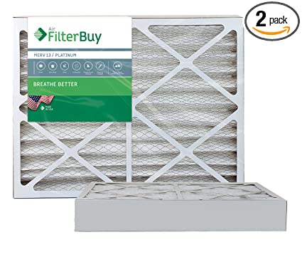 Nordic Pure 10x10x1 MPR 1900 Healthy Living Maximum Allergen Reduction Replacement AC Furnace Air Filters 6 Pack
