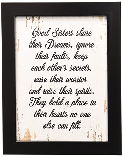 9cfcc851df3a89 Amazon.com  SpotColorArt Good Sisters Share Their Dreams Handcrafted Canvas  Print 7