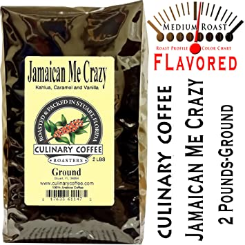 Amazon Culinary Coffee Roasters Jamaican Me Crazy Flavored