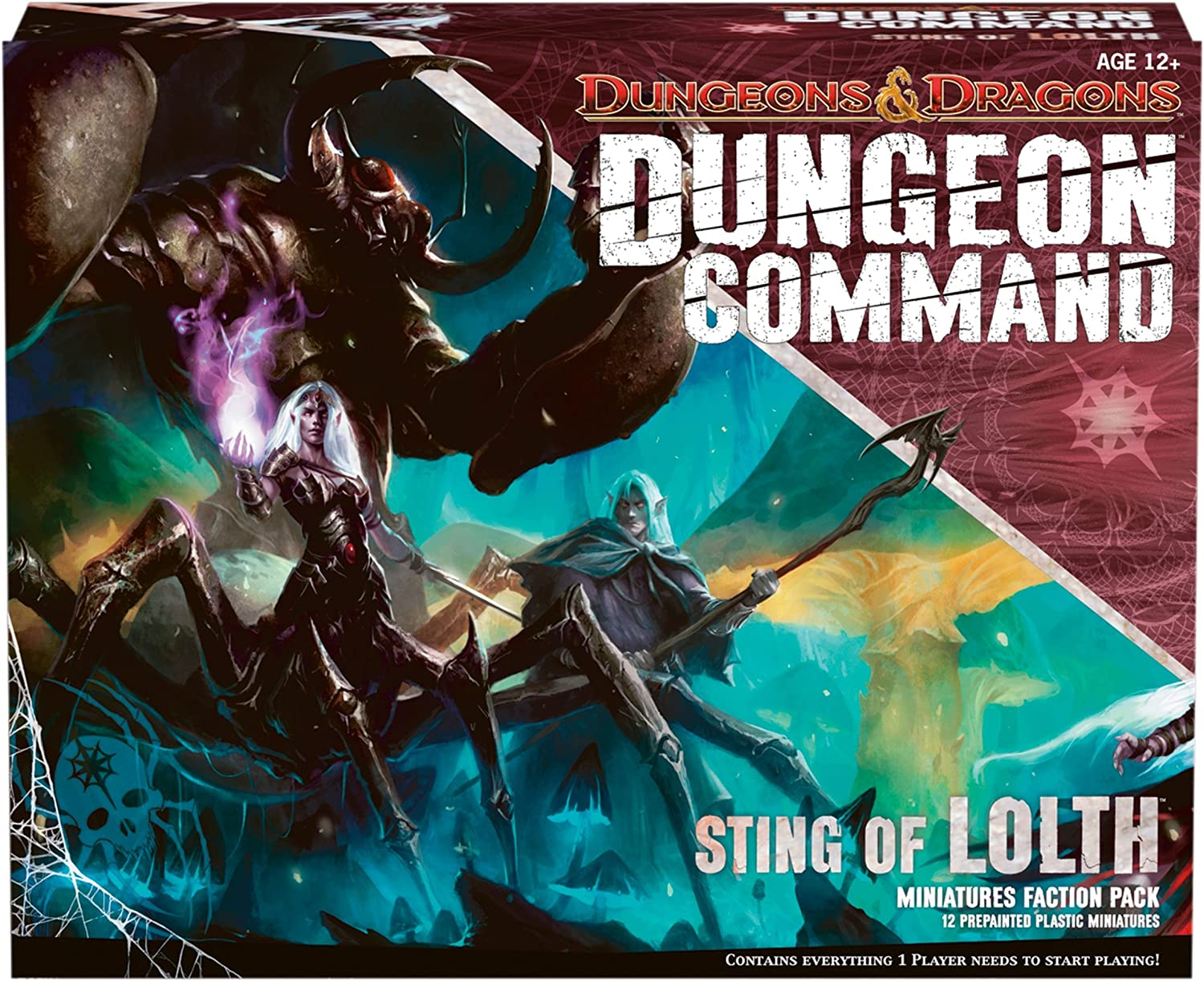 Import Anglais]Sting of Lolth: Dungeon Command: Amazon.es: Juguetes y juegos
