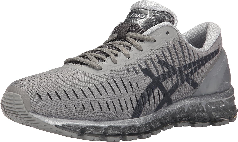 Zapatillas de running GEL Quantum 360 para hombre, gris claro / gris oscuro / plateado, 11.5 M US: Amazon.es: Zapatos y complementos