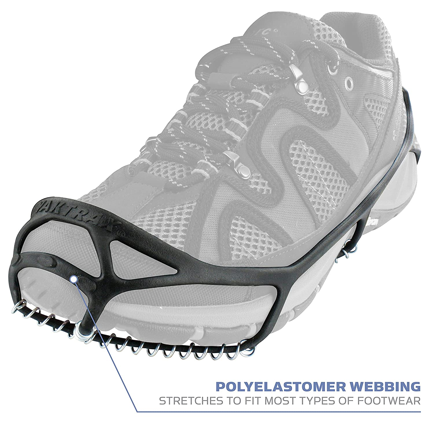 6d715b0bb Amazon.com  Yaktrax Walk Traction Cleats for Walking on Snow and Ice (1  Pair)