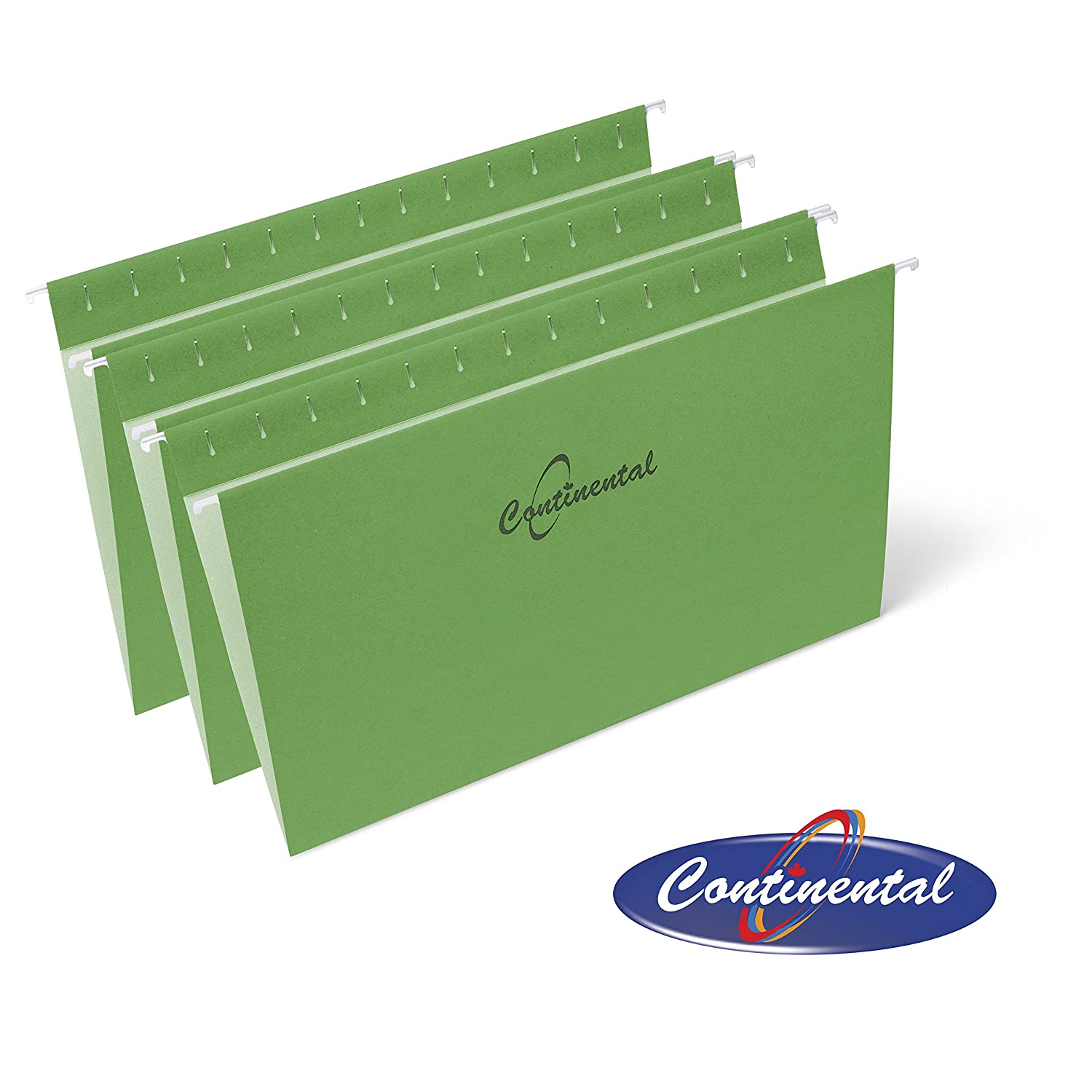 Light Green Hanging Folders 25 per Box Legal size