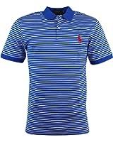 Polo Ralph Lauren Men Golf Pro Fit Pony Striped Jersey Polo Shirt