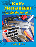 Knife Mechanisms just for the fun of it ePub pilot edition (English Edition)