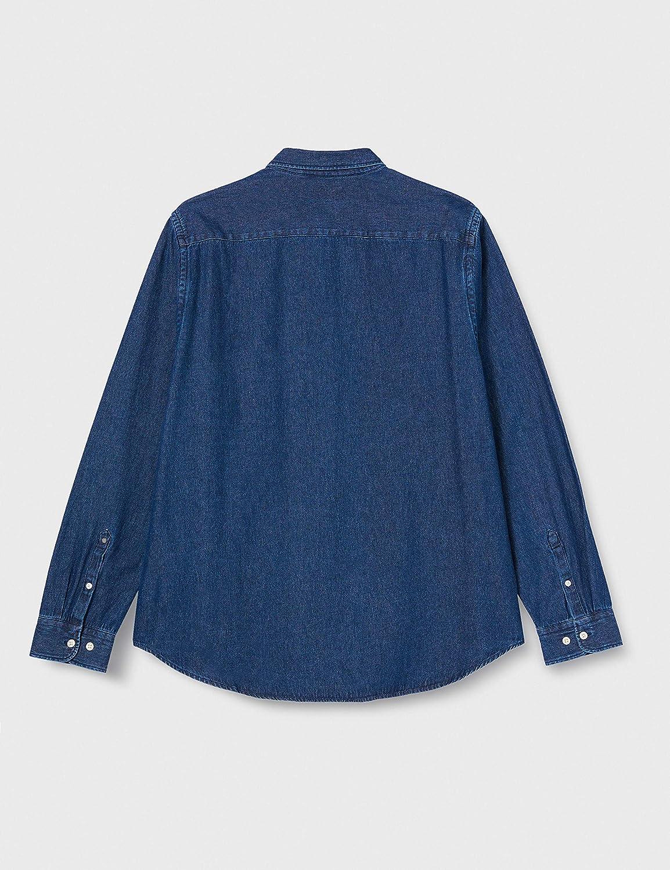 Superdry Classic Denim B.d Shirt Camisa con Botones para ...