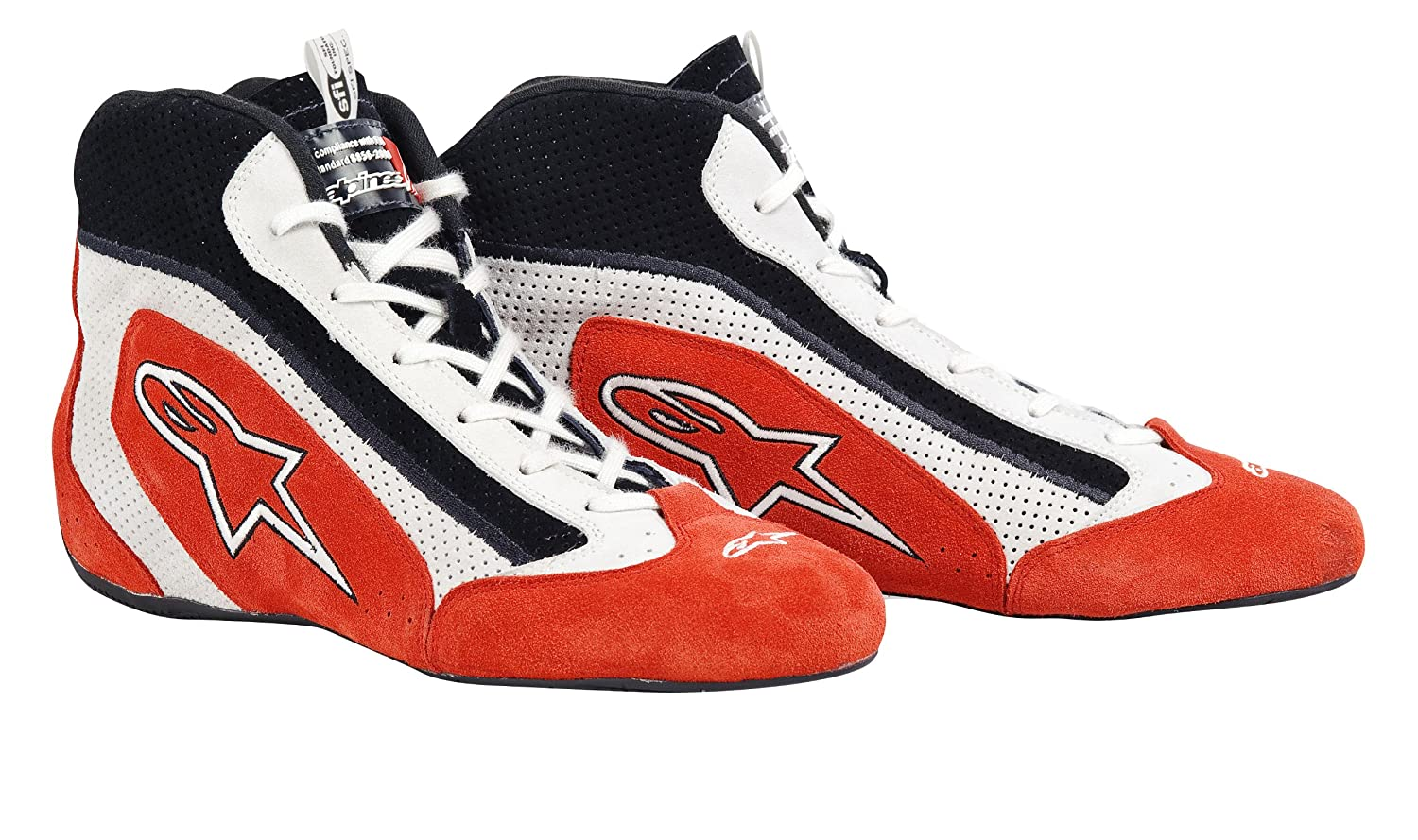 Alpinestars 2710111-31-10.5 Red//Black Size-10.5 SP Shoes