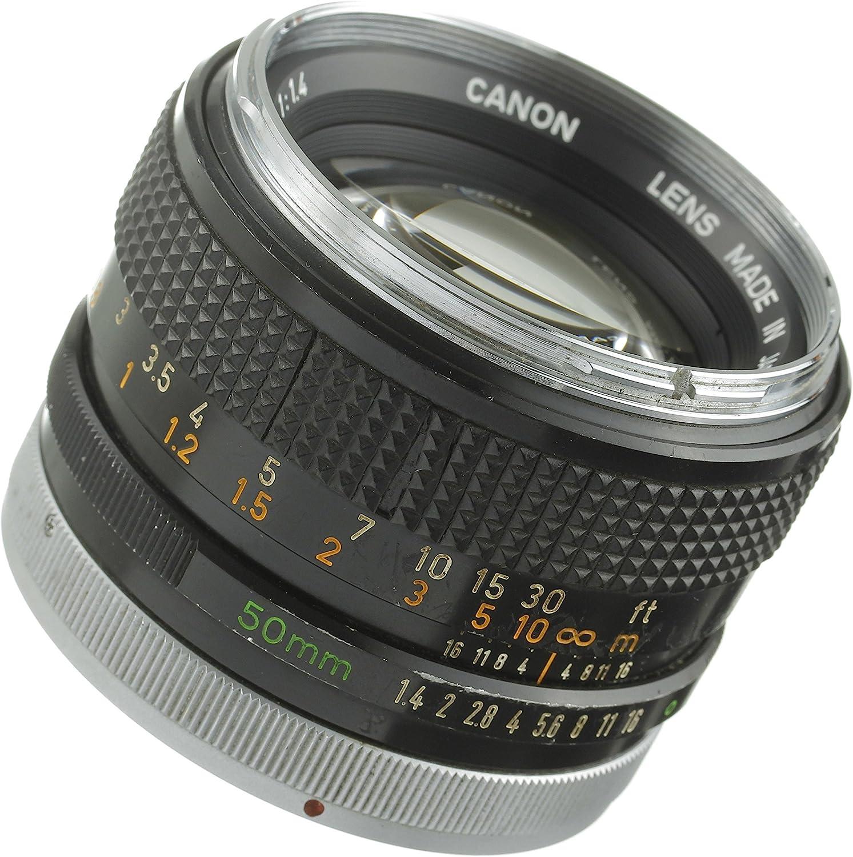 Canon 50mm f//1.4 FD Manual Focus Lens