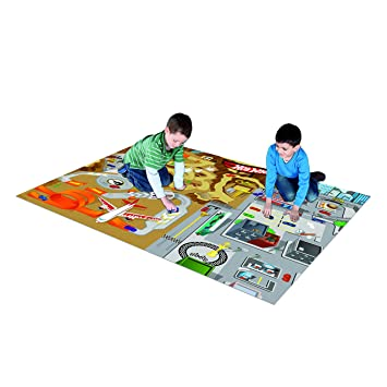 Amazon Com The Canadian Group Hot Wheels Jumbo Mega Mat Toys Games