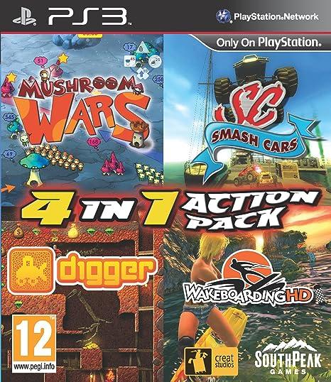 4-in-1 Action Pack (PS3) [Importación inglesa]: Amazon.es: Videojuegos
