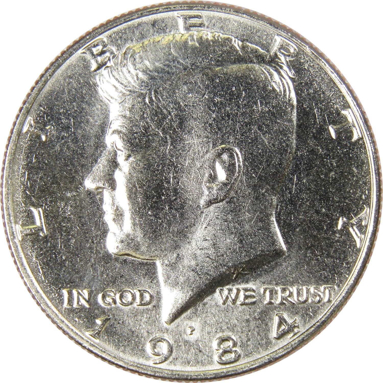 1984 P Kennedy Half Dollar in BU condition