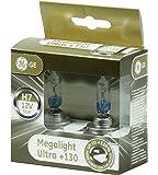 GE General Electric H7 MegaLight Ultra +130% 2 St. PX26d 58520XNU