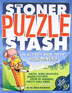 The Stoner Puzzle Stash An Activity Book For High Minded