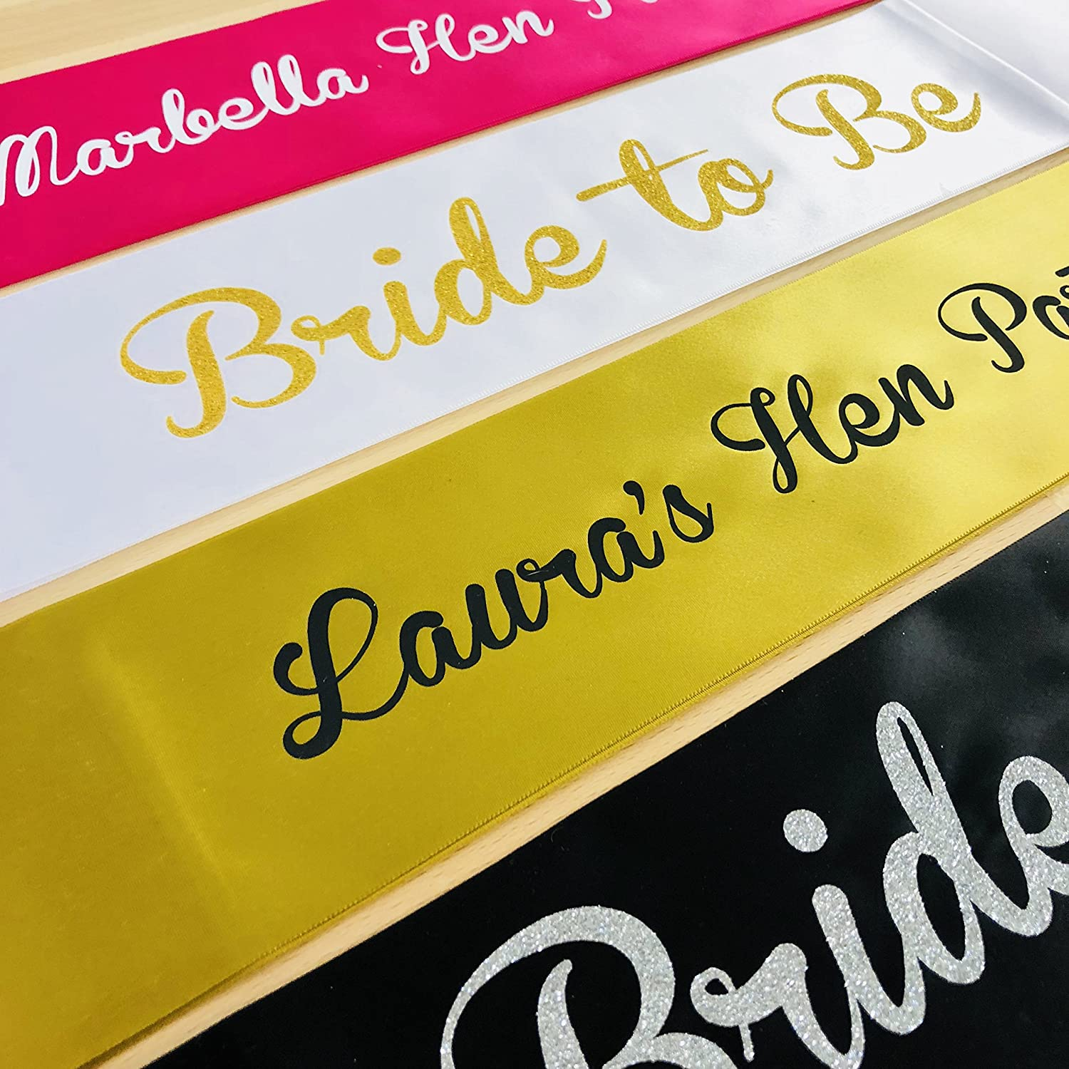 Team Bride Bride Tribe Baby Shower or any occasion Black Sash, Black Print Team Groom Stag Do Personalised Wedding Hen Do Sash Perfect for a Hen Party