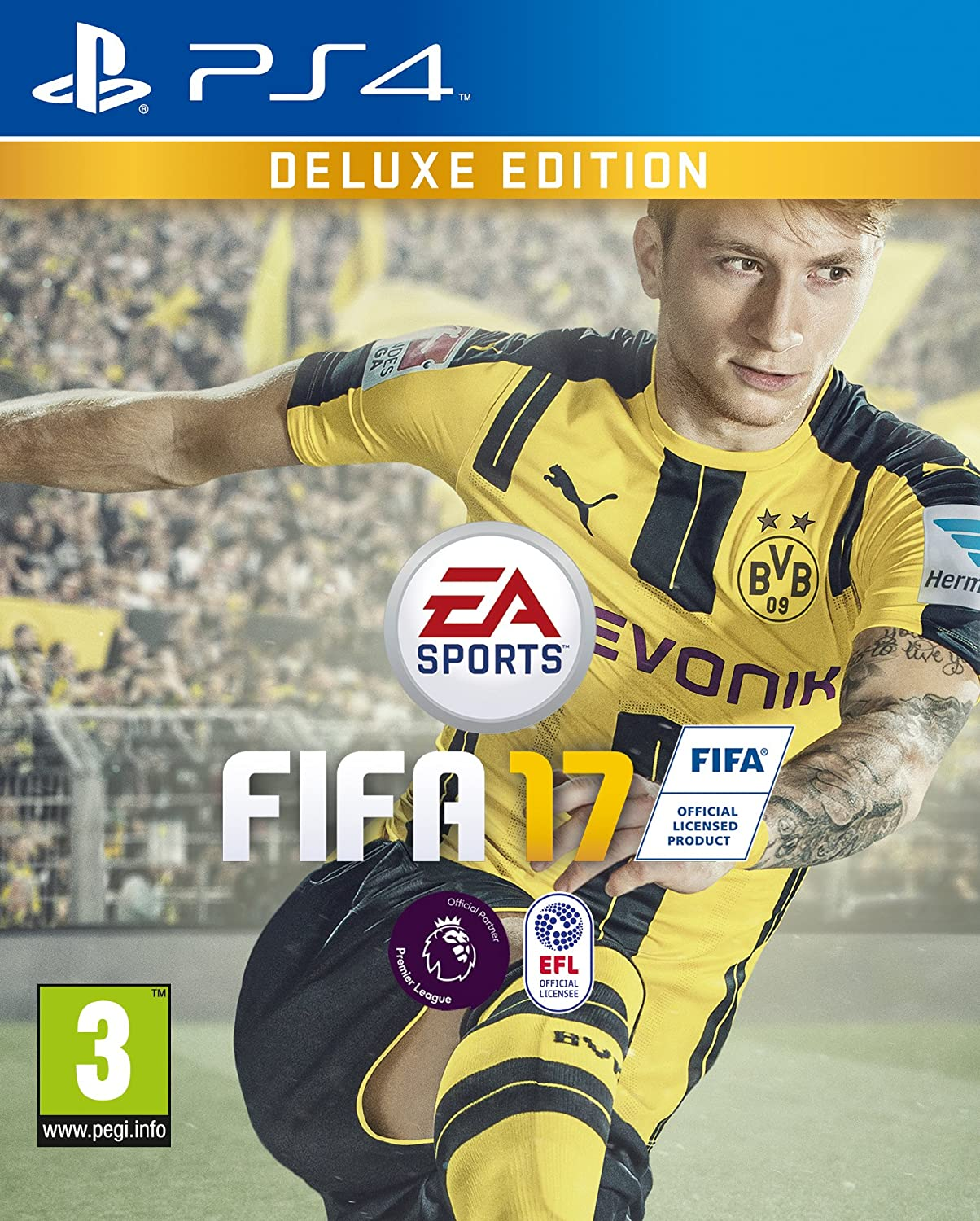 FIFA 17 - Deluxe Edition (PS4) - Imported B01F5D1N3E