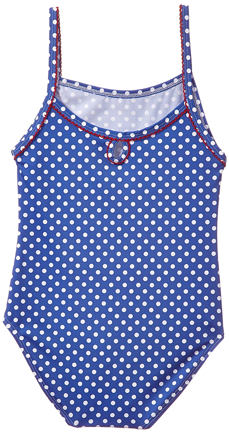 Toddler Kids Petit Bateau One Piece Swimsuit Blue//White-6 Years