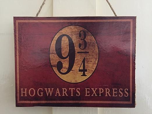 Cartel de Harry Potter para puerta: Amazon.es: Hogar
