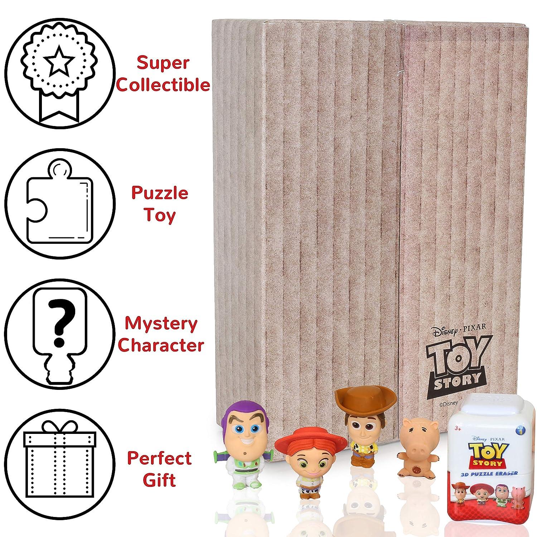 4 Minis Coleccionables Y Una Figurita Sorpresa! Disney Mini Gomas De Borrar Divertidas Mini Figuras De Gomas De Borrar Desmontables Pixar Material Escolar De Los Personajes De Toy Story