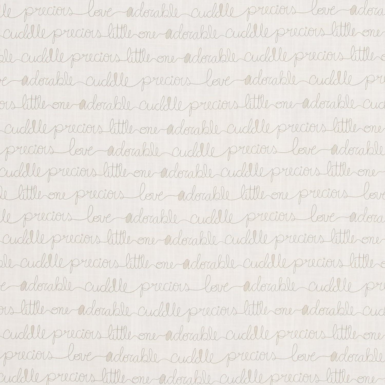 Glenna Jean All My Love Crib Sheet Fitted 28x52x8 Nursery Standard