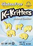 Kinnikinnick Gluten Free Animal Cookies, 8 Ounce (Pack of 6)