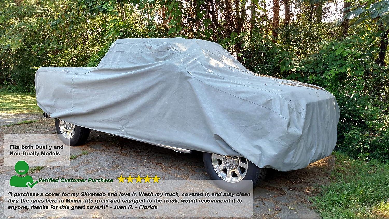 2001 2002 2003 GMC Sierra 2500HD Ext Cab 8ft Long Bed Waterproof Truck Cover