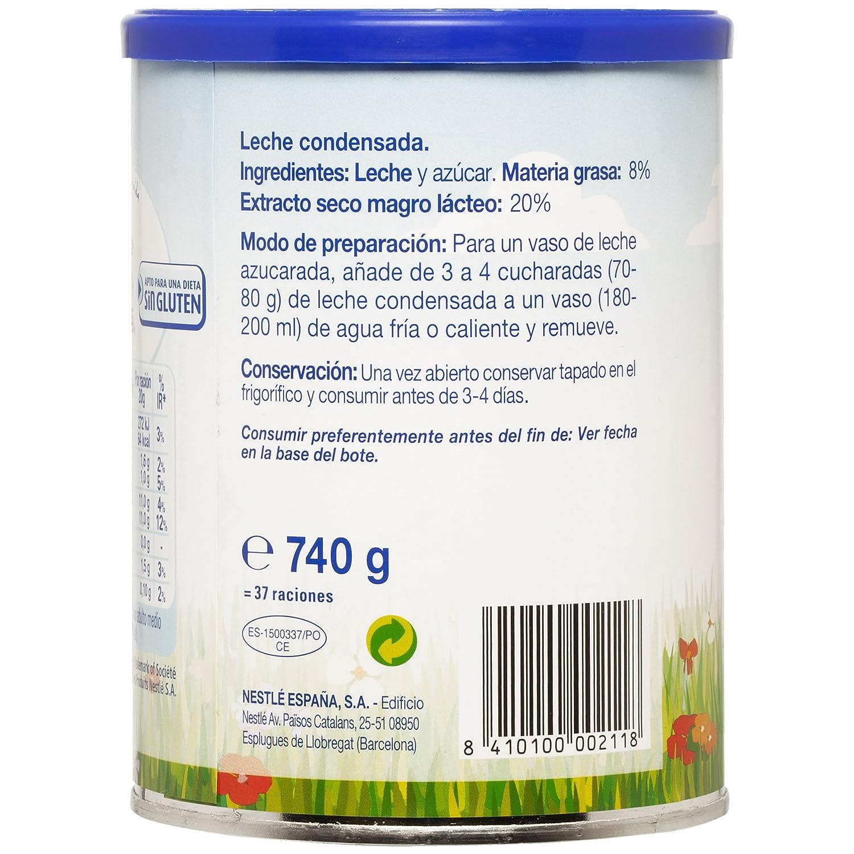 El Castillo - Leche Condensada - 740 g: Amazon.es: Alimentación y bebidas