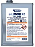 MG Chemicals d-Limonene (Pure Grade) Cleaner Degreaser and 3-D Printing Chemical, 1 Gallon Can