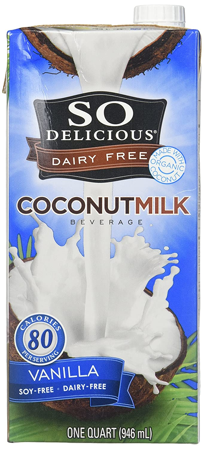 So Delicious Organic Vanilla Coconut Milk Beverage, 32 Ounce - 12 per case.