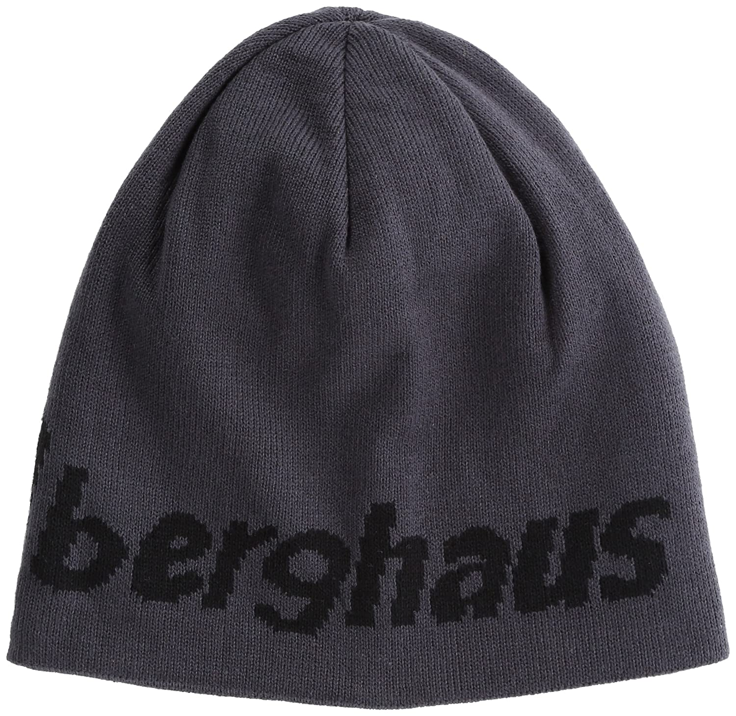 482bd47ee67 Berghaus Ulvetanna Men s Outdoor Reversible Beanie available in Carbon Black  - One Size  Amazon.co.uk  Sports   Outdoors